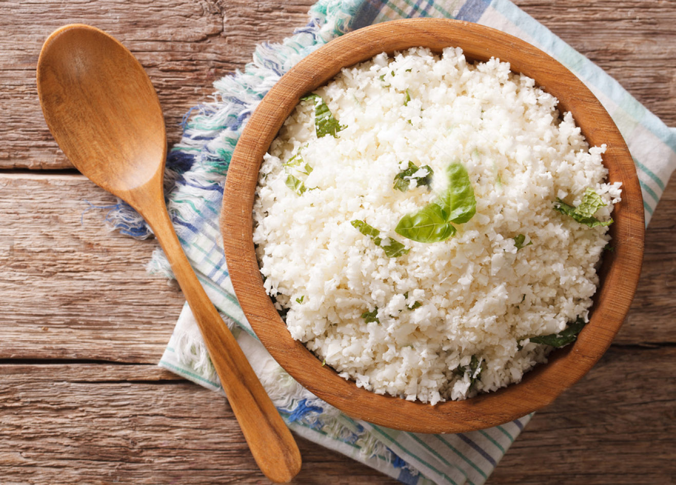 Cauliflower is the new rice.